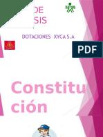Dotaciones XYCA S.A