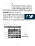 Methodology for Calculation of Hazards