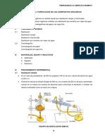 Practica 4. Purificacion de Los Compuestos Organicos