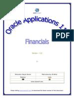 Oracle Applications - Financials 11i - V4.2