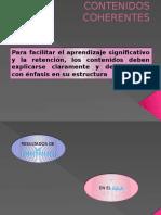 CONTENIDOS COHERENTES
