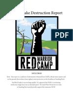 Black Snake Destruction Report 10.21.2016