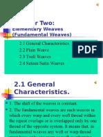 2 Elementary Weaves