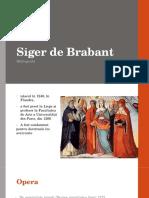 Siger de Brabant