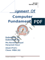 Assignment of Computer Fundamentles3.docx