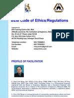 BEM Code of Ethics -
