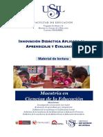 MANUAL - Innovación Didáctica Aplicada Al Aprendizaje y Evaluación