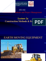 Lecture 2a- Construction Equipment