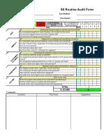 5s-Routine Audit Form