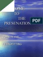 Ppt on Retrofitting