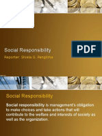 Report on Social Responsibility