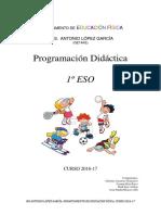 Programación 2016-17 1ºeso