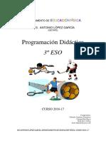 Programación 2016-17 3º Eso