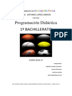 Programación 2016-17 1º Bachiller