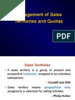 8) Sales Territory& Quota