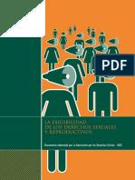 La exigibilidad de los derechos sexuales y reproductivos. CONDERS. 2008