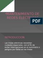 Mantenimiento de Redes Electricas