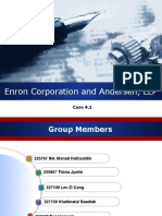 Enron and Anderson