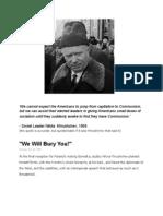 Khrushchev - Americans