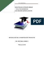 Metodología de Investigación. Cristobal Exebio
