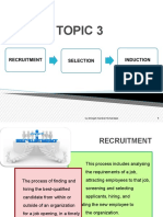 TOPIC 3 - Recruitment, Selection n Induction.ppt