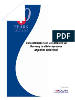 Colloidal Dispersion Gels Improve Oil Recovery in a Heterogeneous Argentina Waterflood