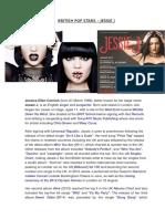 British Pop Stars – Jessie j
