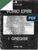 1992 - VORIO EPIRI I GREQISE - Mitropoliti i Dropullit Sebastianos