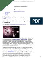 ¿Qué Es El Conectivismo__ Teoría Del Aprendizaje Para La Era Digital _ Eduarea's Blog