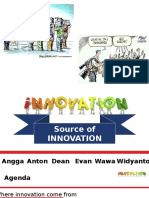 Source Of Innovation