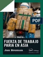 Fuerza de Trabajo Paria en Asia - Jan Breman