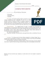 Ficha Informativa - Texto Narrativo