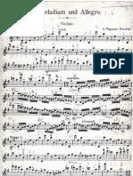 Pugnani Kreisler Praeludium Et Allegro Part Violin
