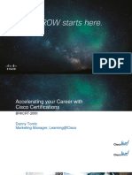 BRKCRT-2000 Accelerating Your Career With Cisco Certifications