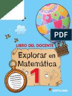 GD Explorar en Matemática 1