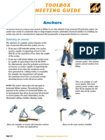 Falls Anchor Points