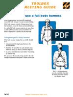 Falls Full Body Harness