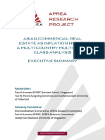 Executive Summary - Asian Commercial Real Estate as Inflation Hedge Final English