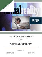 VR- virutal reality
