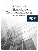 A Tenants Practical Guide to Commercial Leases Digital Version of Book