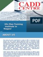 3ds Max Training Institute in Nagpur