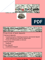 Accounting for Cash