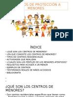 Centros de Protección a Menores1