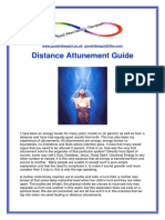 Information for Distance Attunements