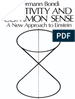 Hermann Bondi Relativity and Common Sense