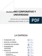 Gobierno Corporativo y Universidad