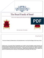 the royal family of israel booklet