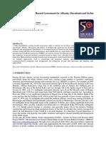 Probabilistic Seismic Hazard Assessment for Albania, Macedonia and Serbia