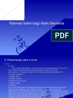 Rahmat Islam Bagi Alam Semesta