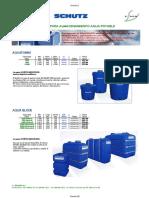 (TT28) 1. Depósitos Polietileno de Agua Potable